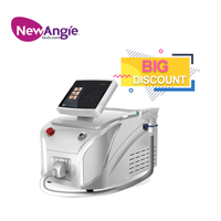 New Arrival Salon And Clinic Use Permanent Diode Laser Hair Removal Machine Price